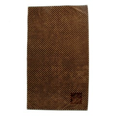Louis Vuitton monogram beach towel