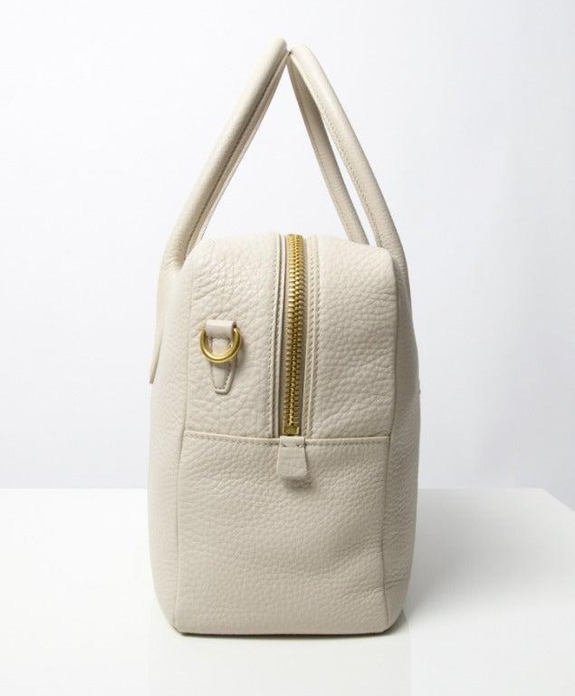 Brand New Prada Bauletto Talco Bag 4