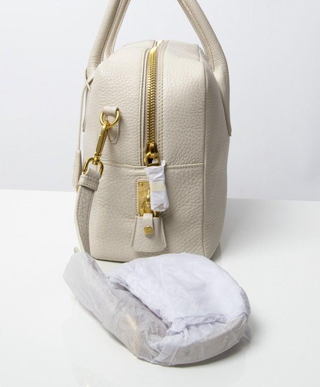Brand New Prada Bauletto Talco Bag 5