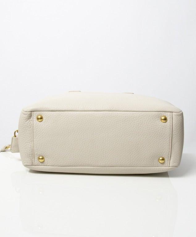 Brand New Prada Bauletto Talco Bag 6