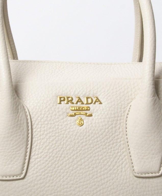 Brand New Prada Bauletto Talco Bag 7