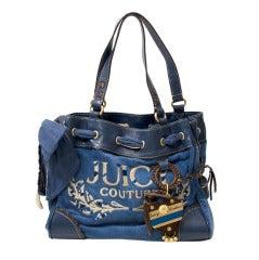 Juicy Couture Blue Bag
