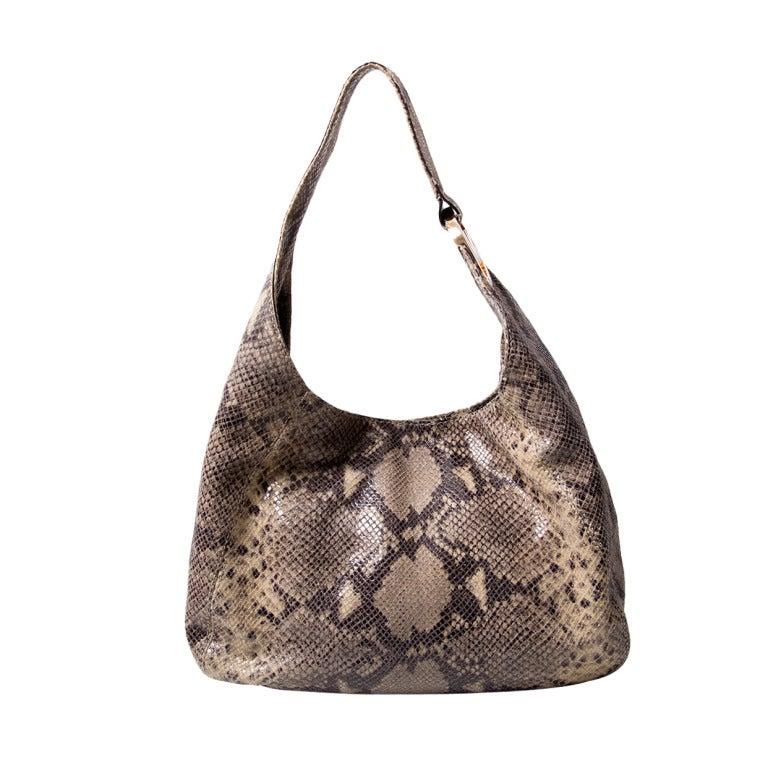 45898e9abb94d4 Michael Kors Animal Print Fulton Shoulder Bag at 1stdibs
