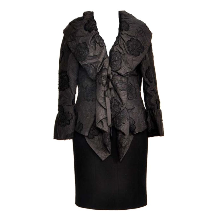 Chanel haute couture vest at 1stdibs for Haute couture jacket