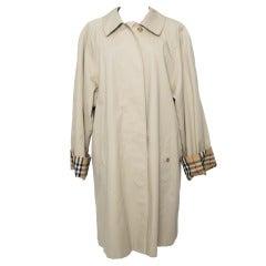 Burberry Classic Beige Trench Coat