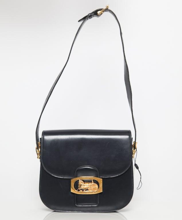 Celine horse carriage clapse shoulder bag 2