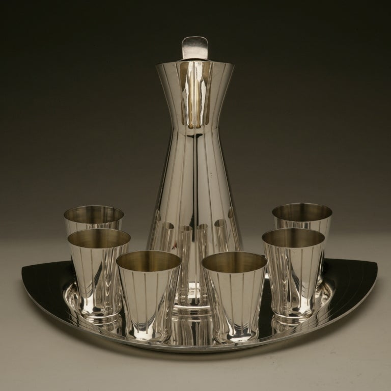 Mid-20th Century Mid-Century Modern Cocktail Set