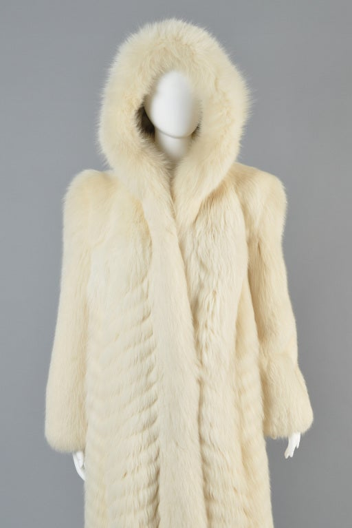 Christian Dior Feathered Arctic Fox Fur Coat image 5
