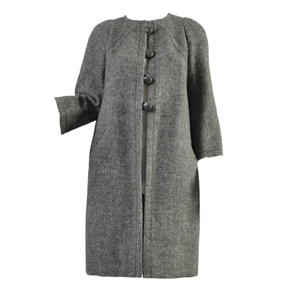 1963 Christian Dior Haute Couture Coat at 1stdibs
