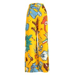 Moschino 1989 Popeye Sailor Pants