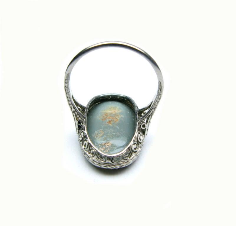 Art Deco Opal Ring 5