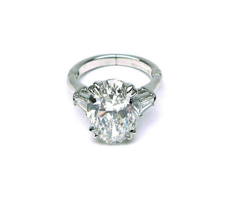 Oval Diamond Prices Oval Diamond Ring Image 3