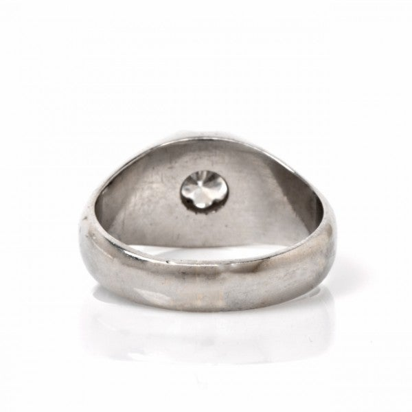 platinum s solitaire ring at 1stdibs