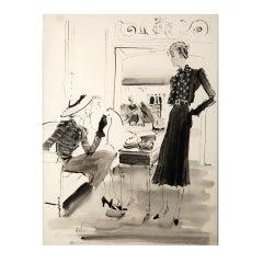 Willaumez illustration Fashion Salon