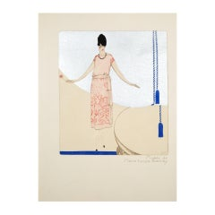 Deco Fashion Illustration for Premet