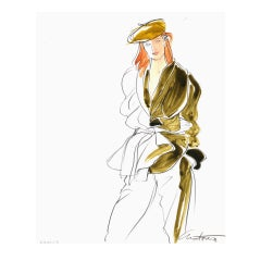 Antonio Lopez - Kenzo for Vogue
