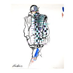 Antonio Lopez - Missoni for Vogue