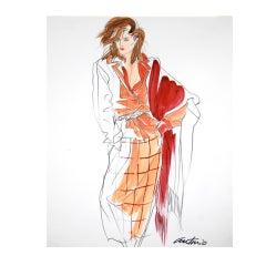 Antonio Lopez Calvin Klein for Vogue