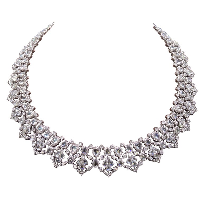 edwardian necklace diamomd diamond