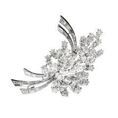 Cusi Milano Diamond Brooch