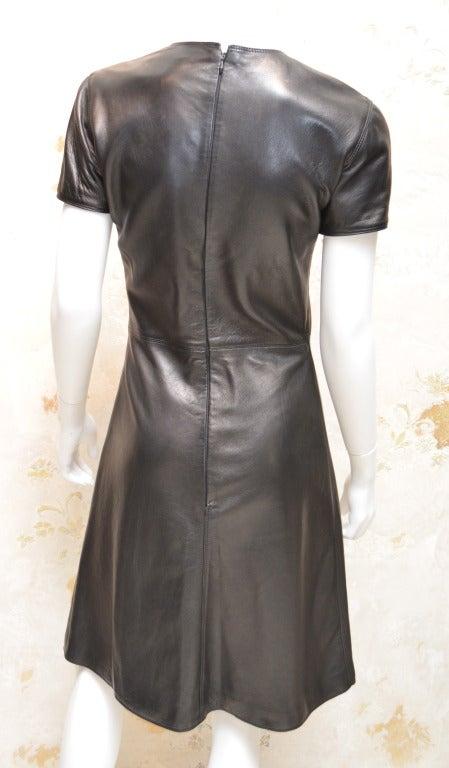 Gianni Versace Leather Dress 3