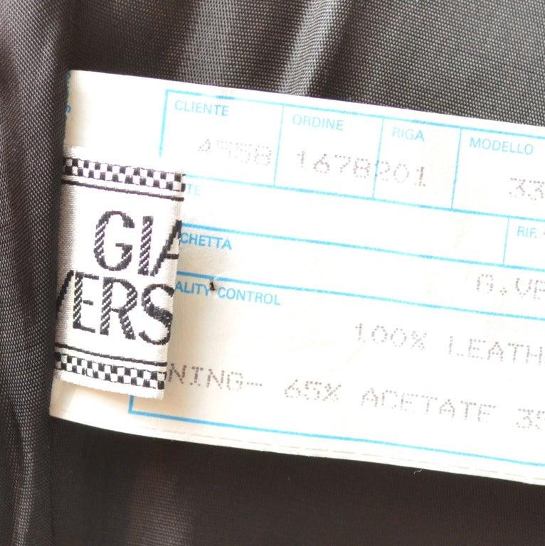 Gianni Versace Leather Dress 4
