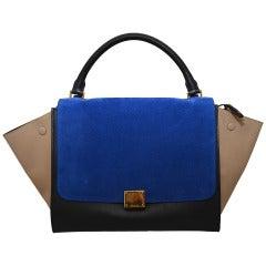 Celine Trapeze Handbag Multicolor