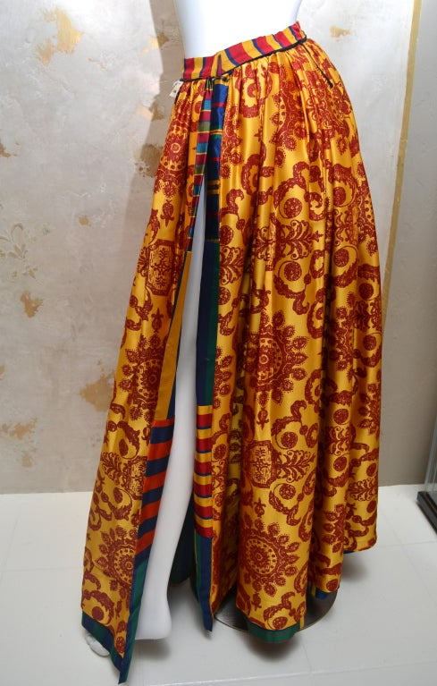 Todd Oldham Vintage Late 1980s Gypsy Skirt And Cigarette