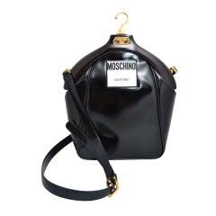 Moschino Couture!  Coat Hanger Handbag Vintage 1980's