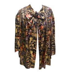 Liberty 1920 Lame Evening Coat