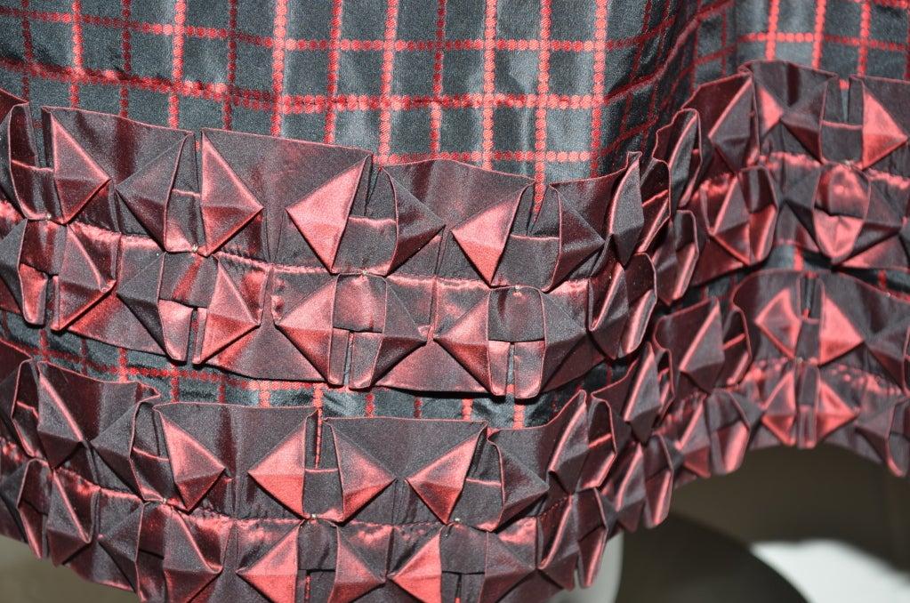 Yves Saint Laurent Rive Gauche Ball Skirt & Sheer Blouse 1970's For Sale 2