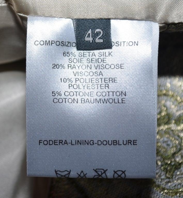 Alexander McQueen Brocade Kimono Jacket & Bustier 2003 For Sale 5