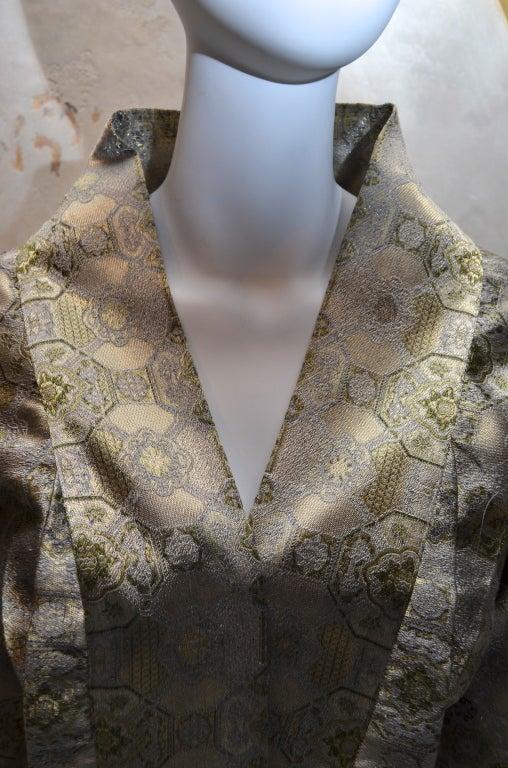 Women's Alexander McQueen Brocade Kimono Jacket & Bustier 2003 For Sale