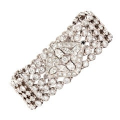 Magnificent 18.4 Carat Diamond Bracelet