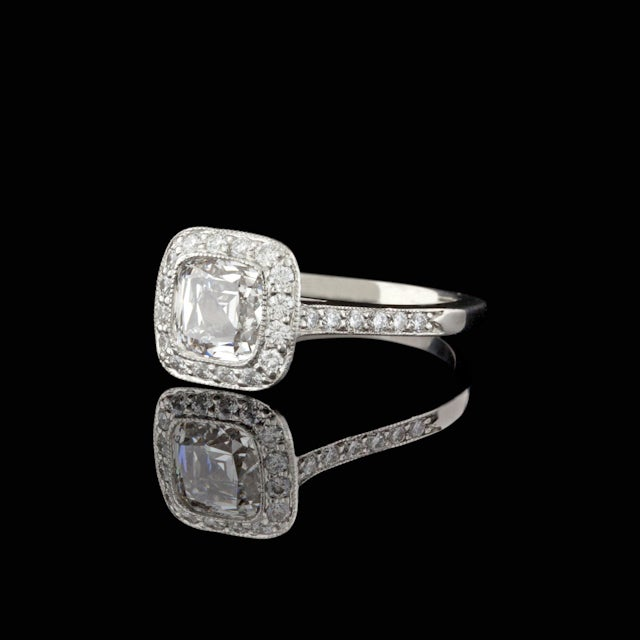 Tiffany & Co. 1.51ct Legacy Diamond Ring 2