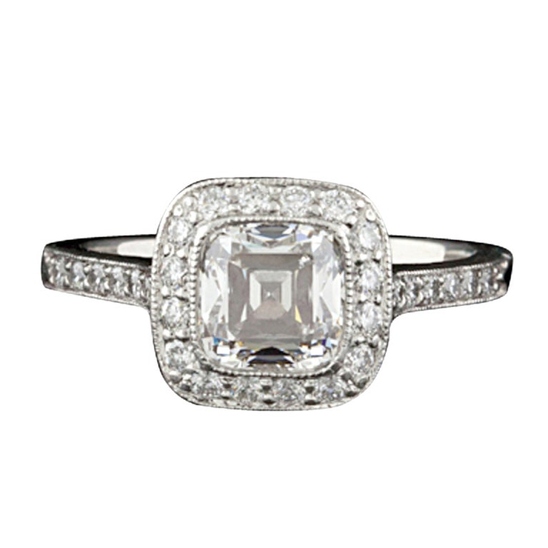 Tiffany & Co. 1.51ct Legacy Diamond Ring 1