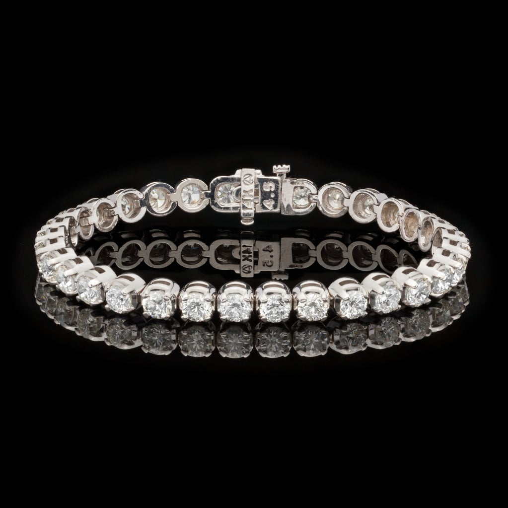 Diamond Tennis Bracelet At 1stdibs