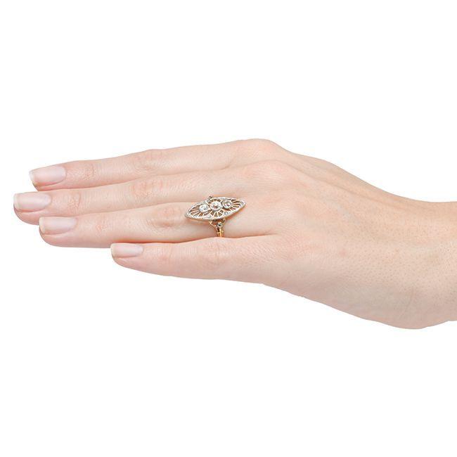 gold platinum edwardian engagement ring at 1stdibs