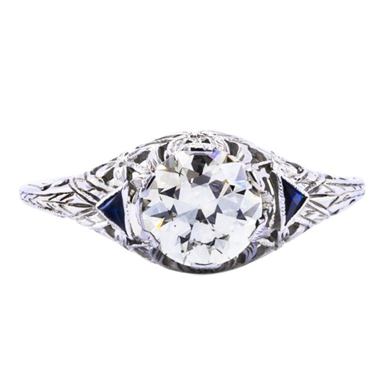 1 20 carat gold engagement ring at 1stdibs
