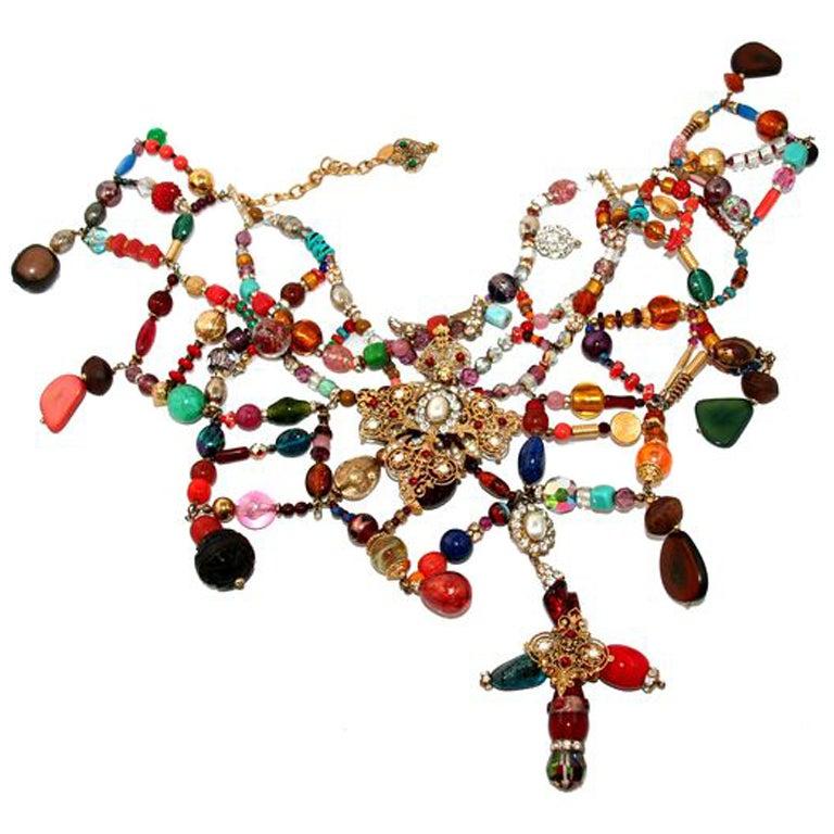 Christian Lacroix Défilé Haute Couture Necklace 1