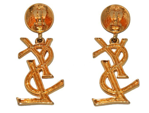 The Authentic & Highly Collectable YSL Earrings 1980 2