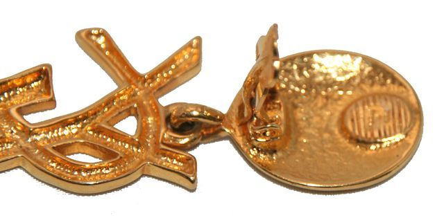 The Authentic & Highly Collectable YSL Earrings 1980 4