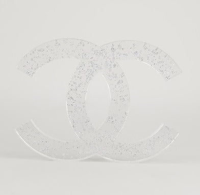 Rare Vintage Chanel Christmas Logo Decoration 2