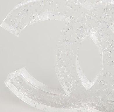 Rare Vintage Chanel Christmas Logo Decoration 3