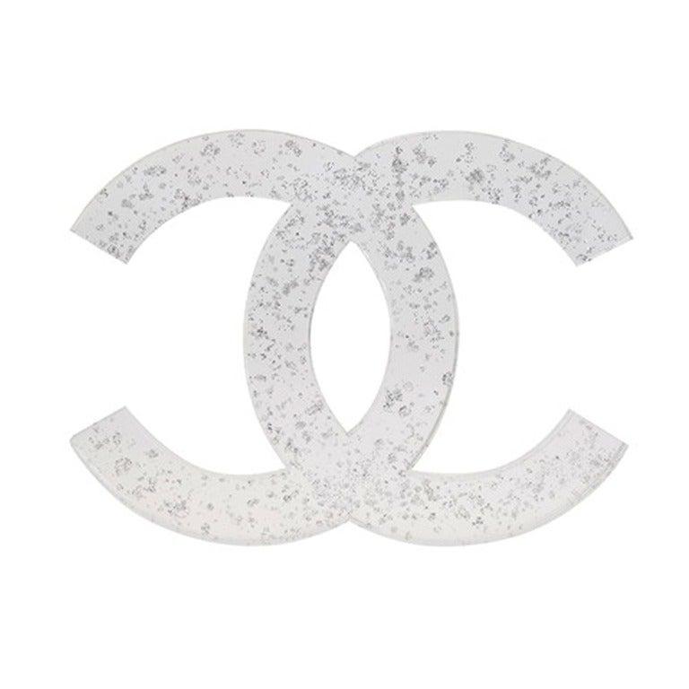 Rare Vintage Chanel Christmas Logo Decoration 1