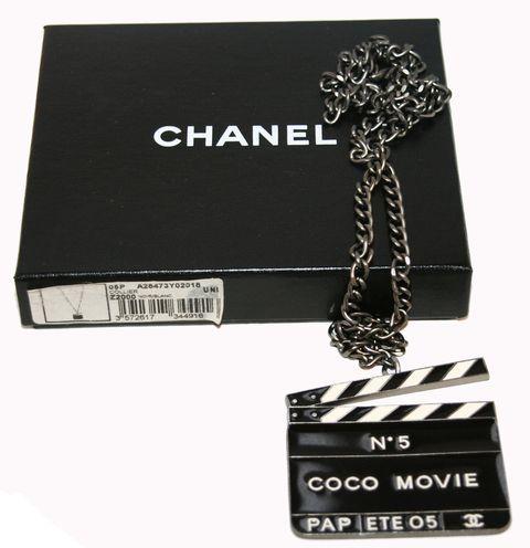 Collector Chanel Coco n°5 Movie Pendant 2