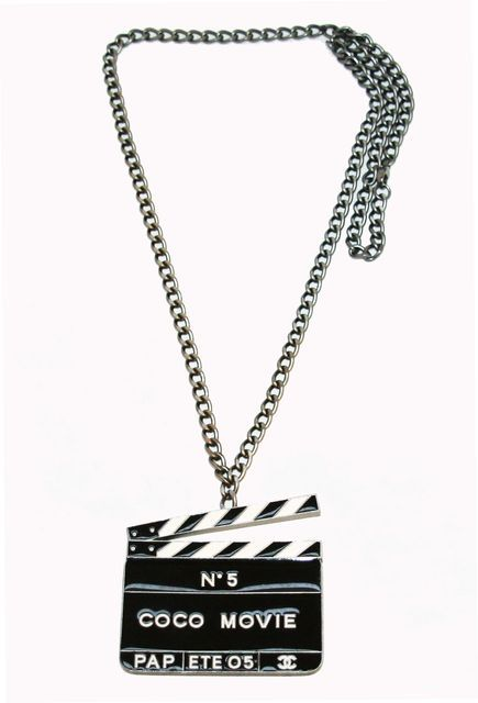 Collector Chanel Coco n°5 Movie Pendant 3