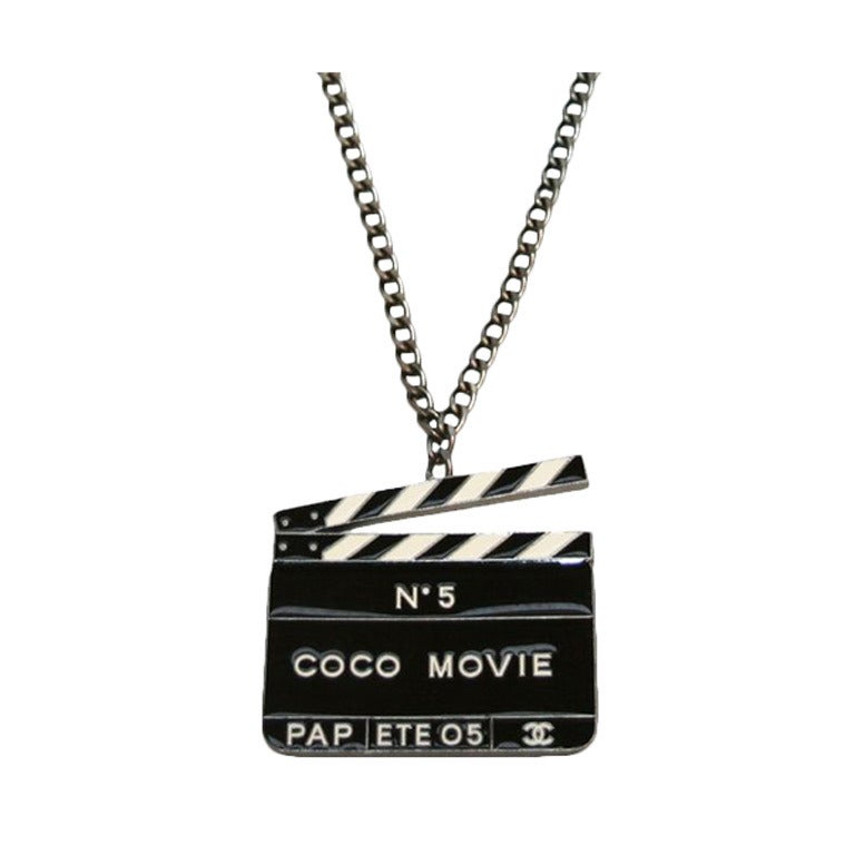 Collector Chanel Coco n°5 Movie Pendant 1