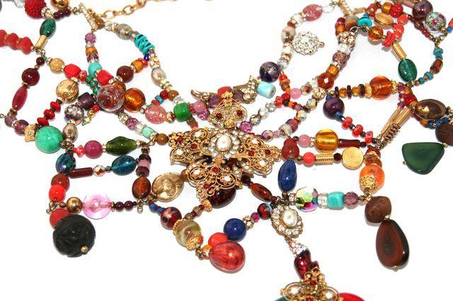 Christian Lacroix Défilé Haute Couture Necklace 3