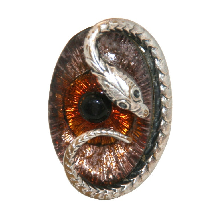 unique vintage snake eye jacques gautier ring 1960 at 1stdibs